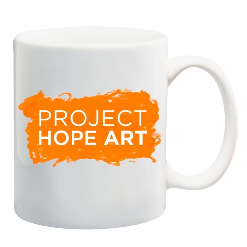 HOPE Art Mug centered