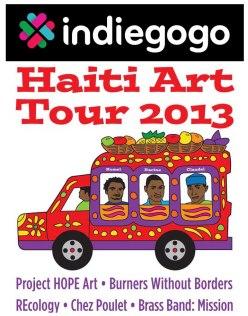Haiti Art Tour Logo + indie